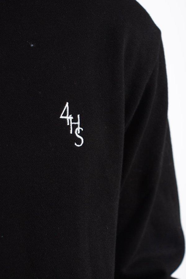 FOUR HORSEMEN Monogram Hoodie - Black