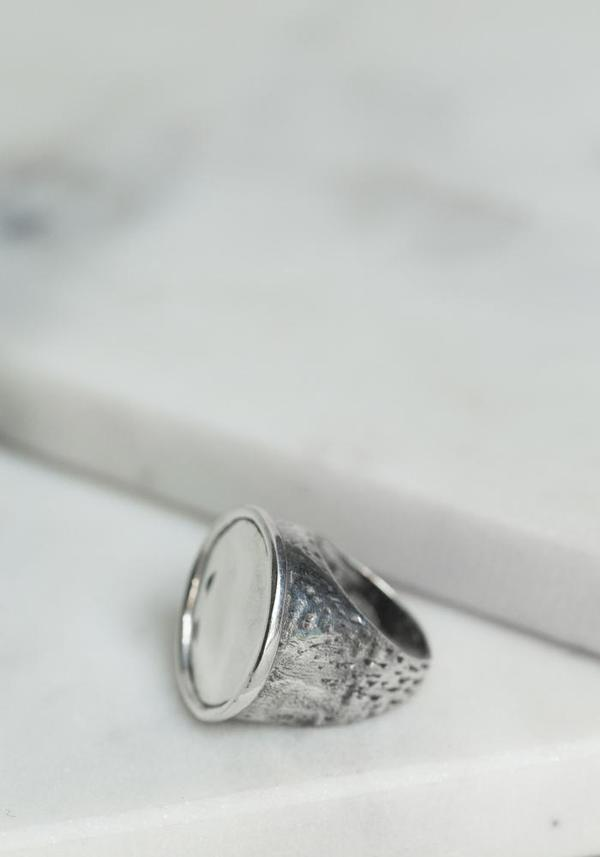 Simona Tagliaferri Small Circle Ring - Silver