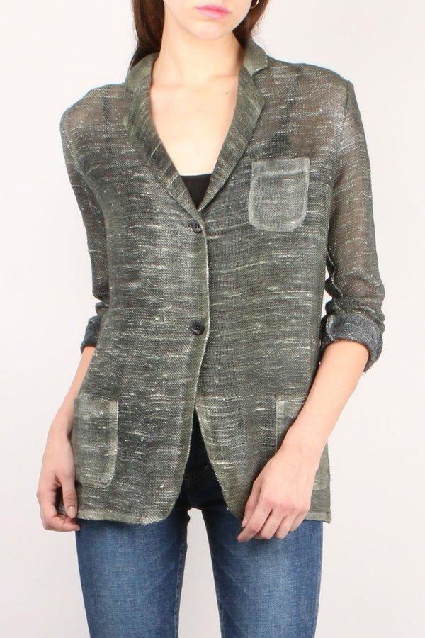 Avant Toi Knit Blazer with Pocket