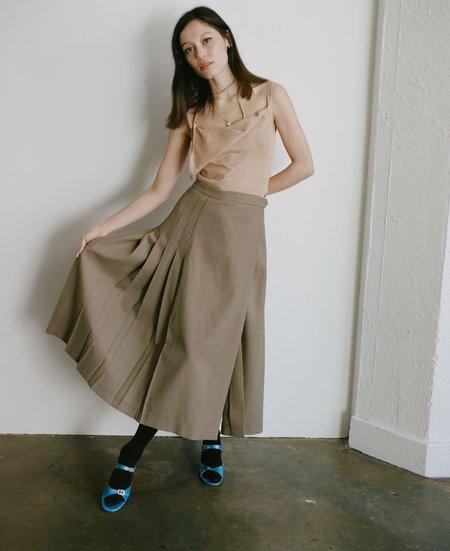 Maryam Nassir Zadeh Umbra Skirt - Hazel