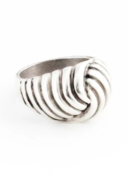 Another Feather Tirso Ring - Silver