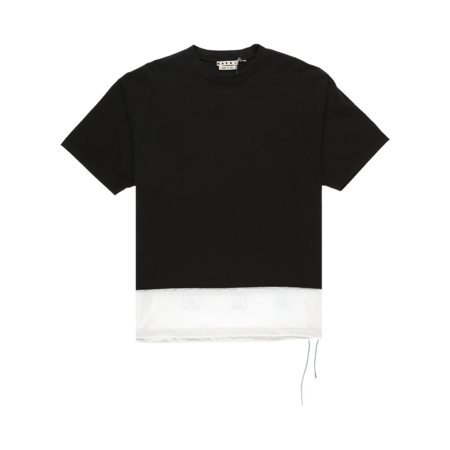 Marni Layered T-Shirt - Black/White