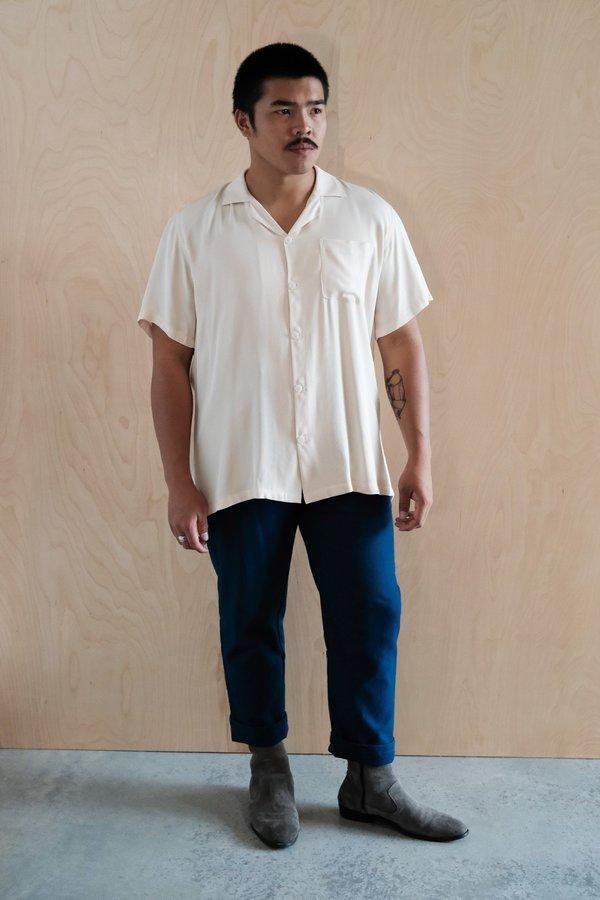 House of St. Clair Cuba Shirt - Ivory