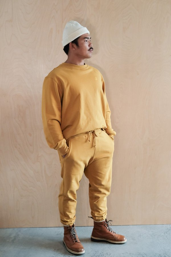 House of St. Clair Morton Ave Pant - Gold
