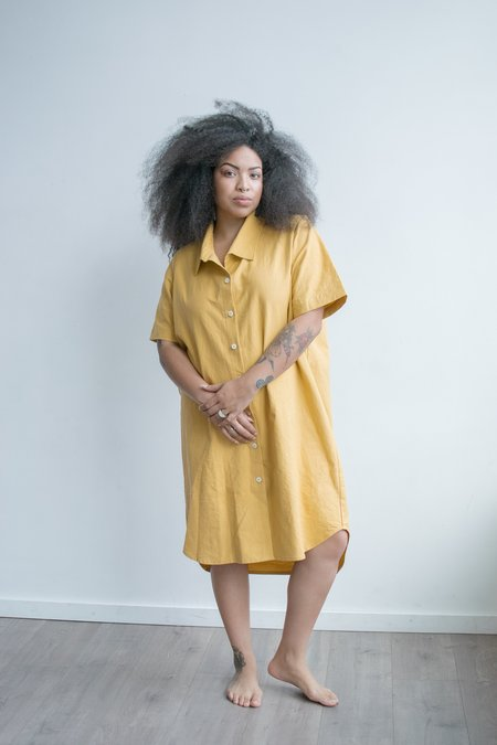 Aliya Wanek Quinn Dress - Ochre