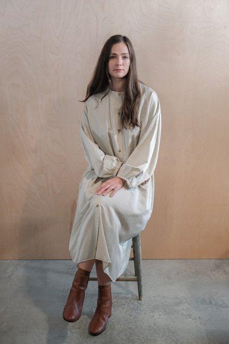 Revisited Silk Cotton Shirtdress