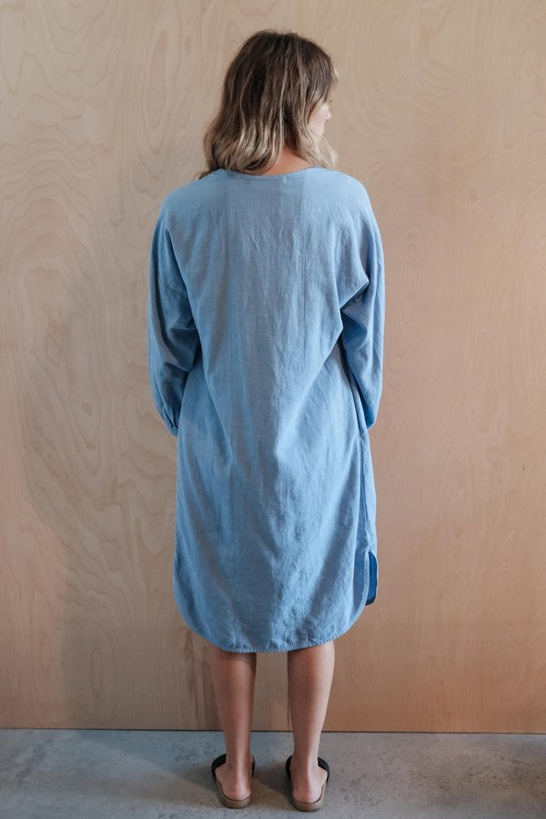Gravel & Gold Sorrell Dress - Blue Moon