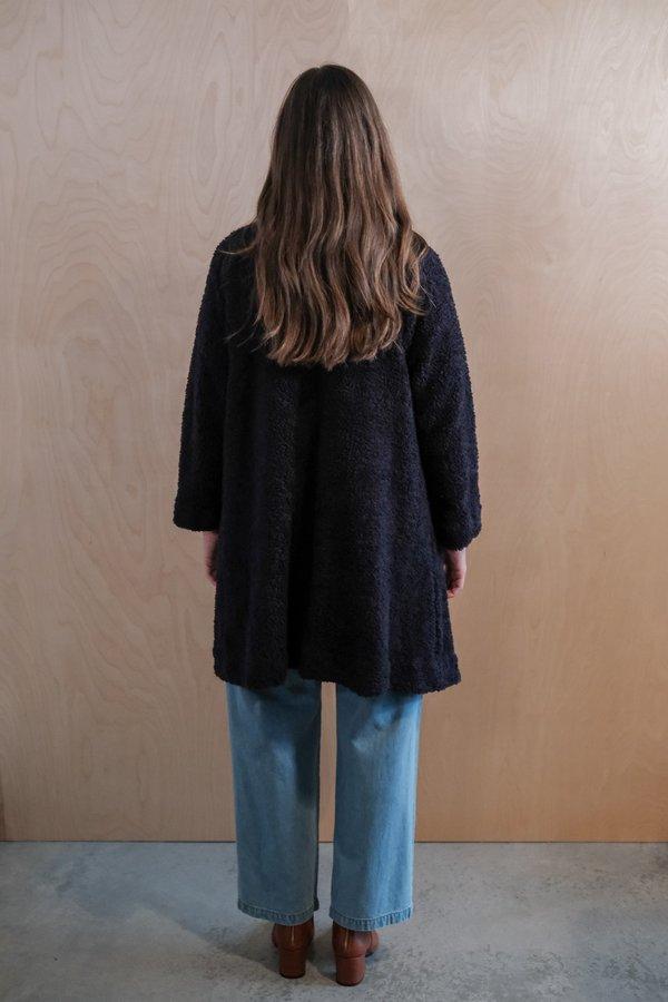 Maria Stanley Verde Sweatercoat - Navy