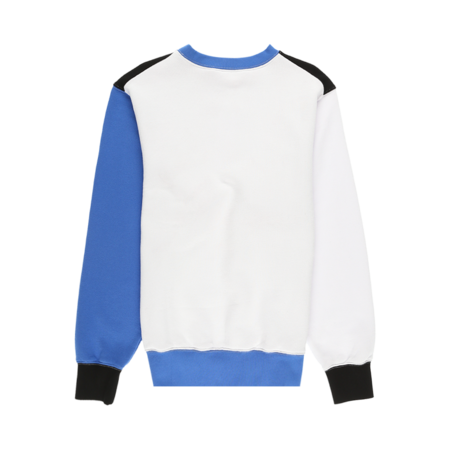 Marni Colorblock Crewneck - Black/Blue/White