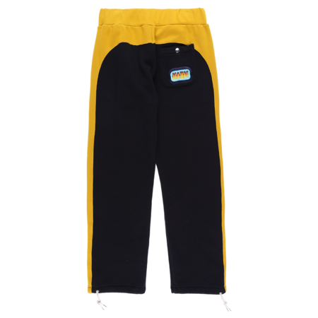 Marni Stripe Track Pants - Black/Yellow