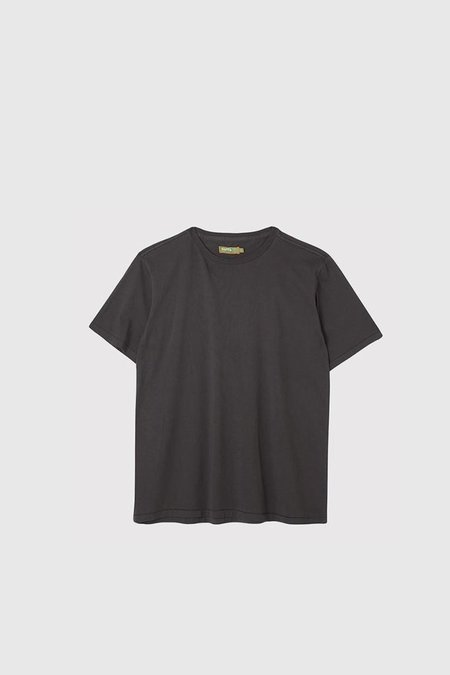 Satta Organic Cotton T-Shirt - Washed Black