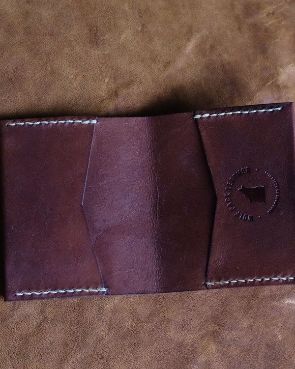 WOLF PACK LEATHER CUB WALLET