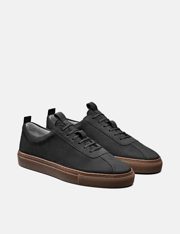 Grenson Sneakers - Black/Gum
