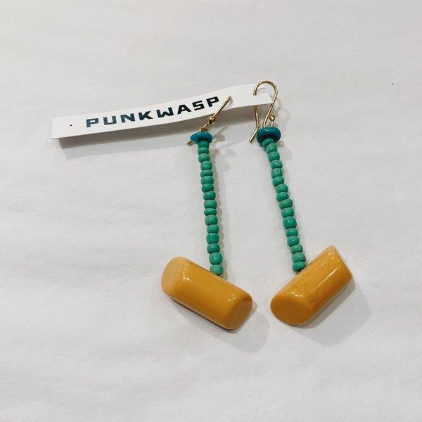 Punkwasp Beaded Earrings