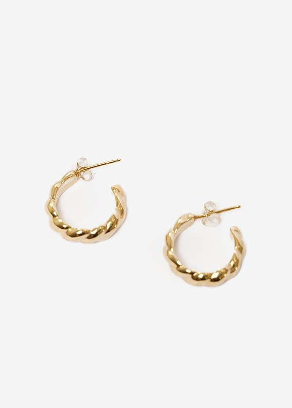 Wolf Circus Sadie Hoops - 14K gold plated bronze