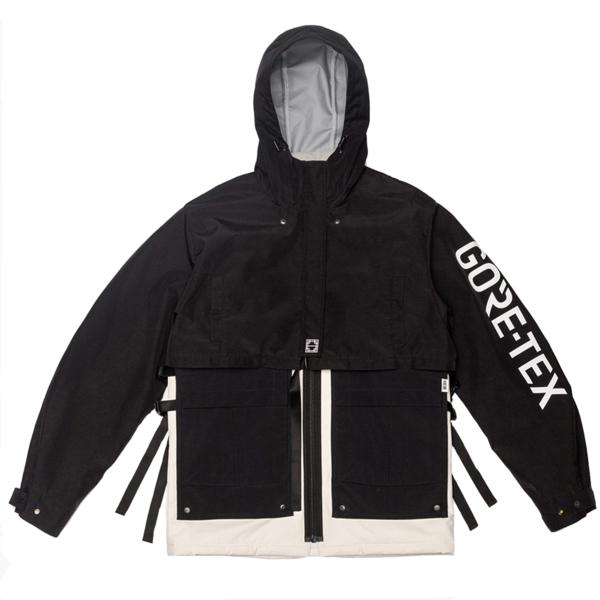 IISE 3 Layer Jacket - BLACK/IVORY