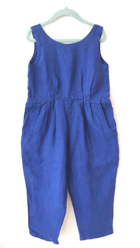Black Crane Kids Overall - Blue