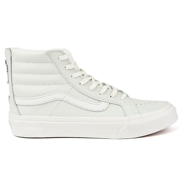 VANS Sk8-Hi Slim Zip Leather Sneaker