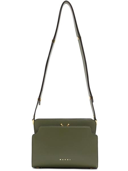 MARNI Trunk Reverse Shoulder Bag - Green