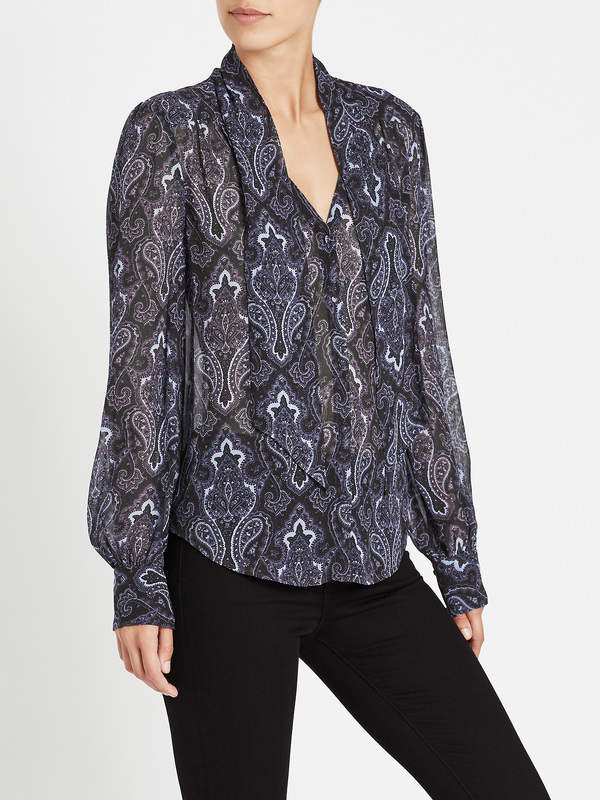 Paige Cleobelle Blouse - Purple