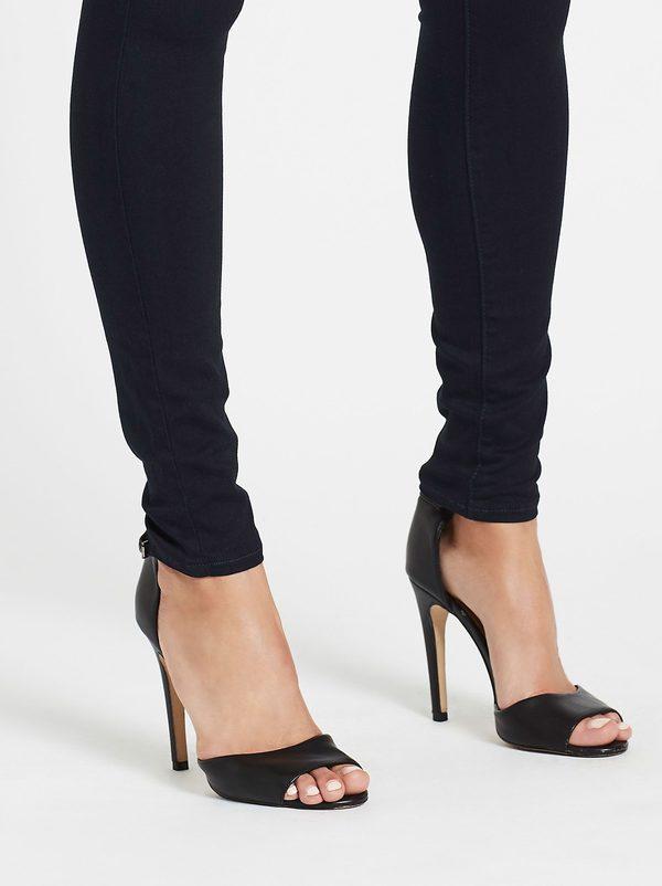 L'agence Marguerite High Rise Skinny Jean - Dark Denim