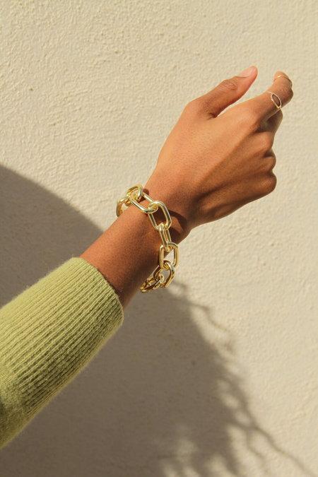 Machete Interchangeable Statement Link Bracelet - 14k Gold