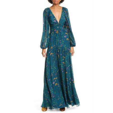 Amur Gwenevere Dress - Blue/Green