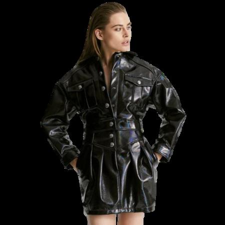 CL Studio Patent Leather Mini Skirt
