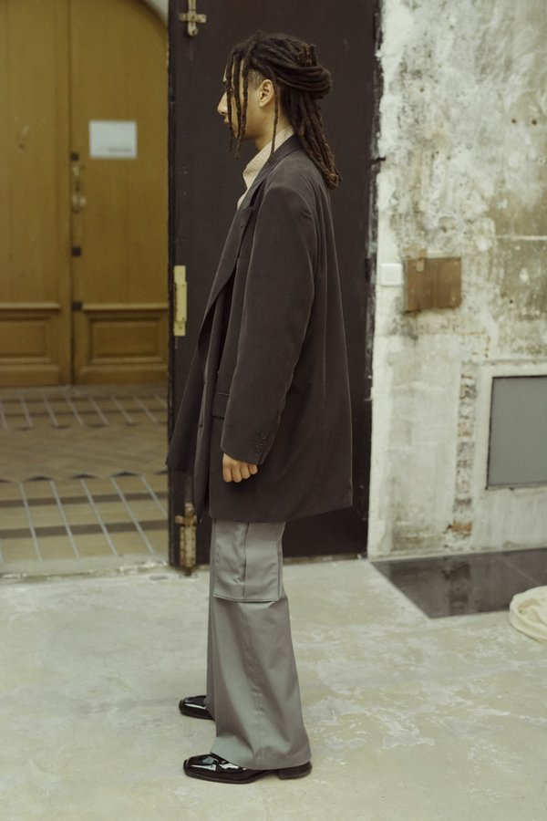 Martine Rose Asher Modal Long Tailored Jacket