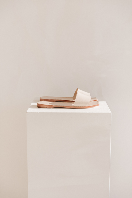 Mari Giudicelli Porto Sandal - Ivory