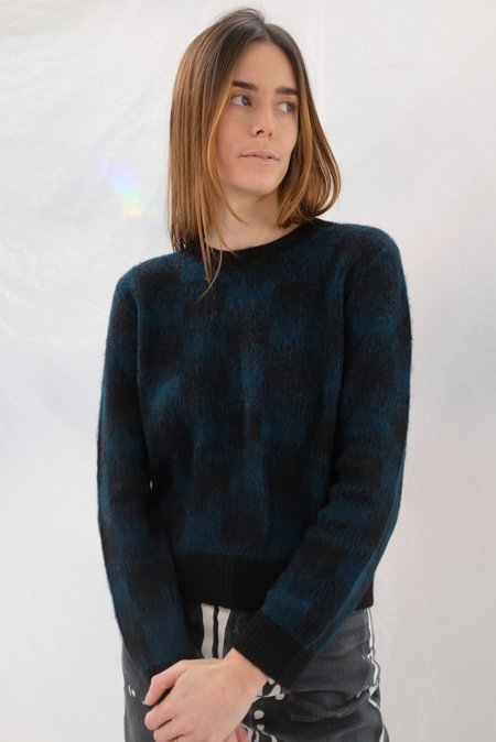Beklina Bofill Crew Sweater - Emerald/Black