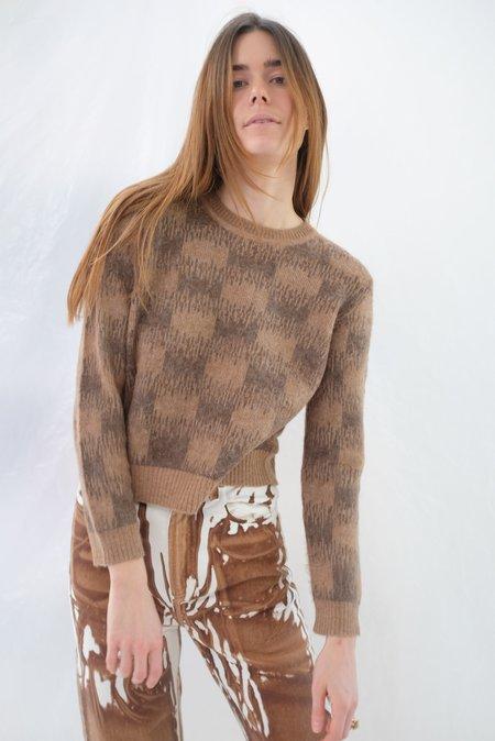 Beklina Bofill Crew Sweater - Toast/Rye
