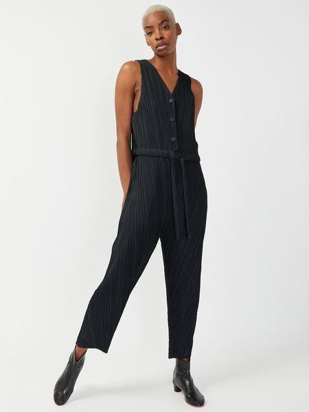 Issey Miyake Bounce Jumpsuit - Black