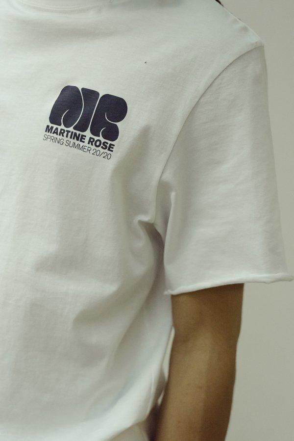 Martine Rose Lloyd Lettuce Hem T Shirt