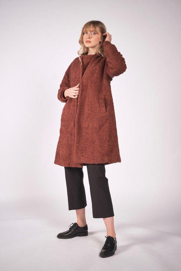 Maria Stanley Verde Sweatercoat - Clove