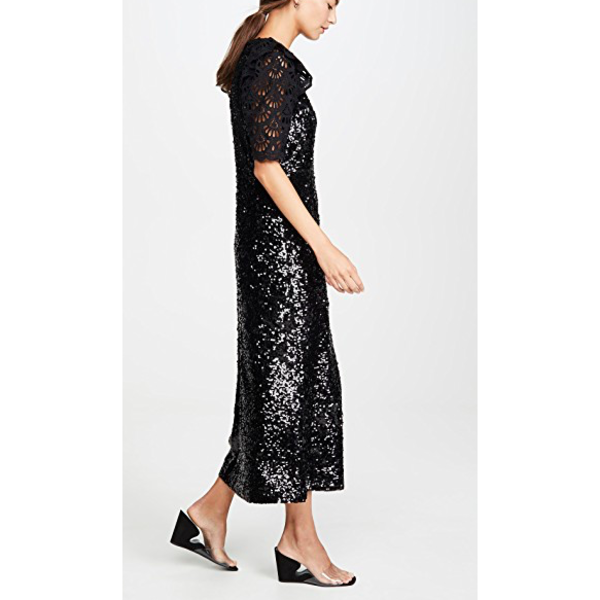 Sea NY Sequined Midi Dress