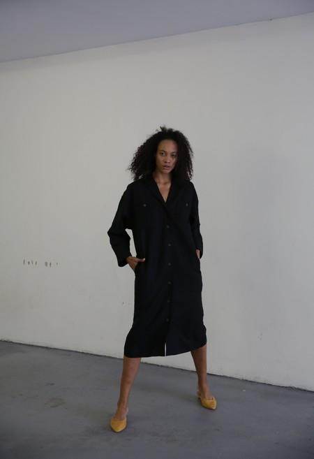 MARA HOFFMAN SYLVIE DRESS - BLACK