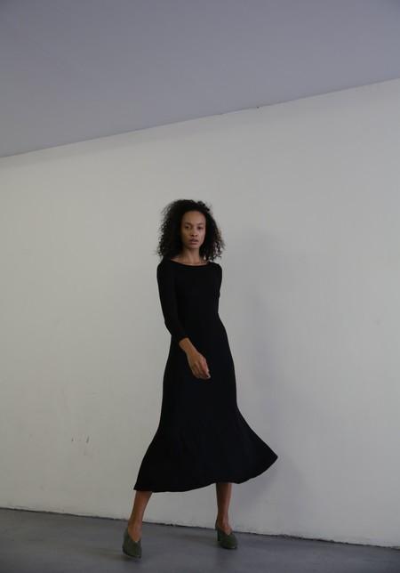 MARA HOFFMAN GWYNETH DRESS - BLACK