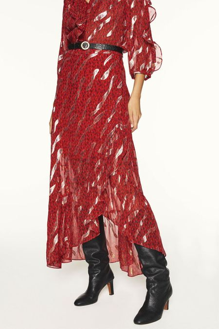 Bash Paris Hada Skirt - Red
