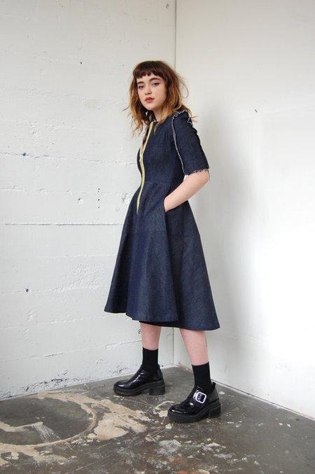 Alexa Stark Denim dress no.1 - Blue