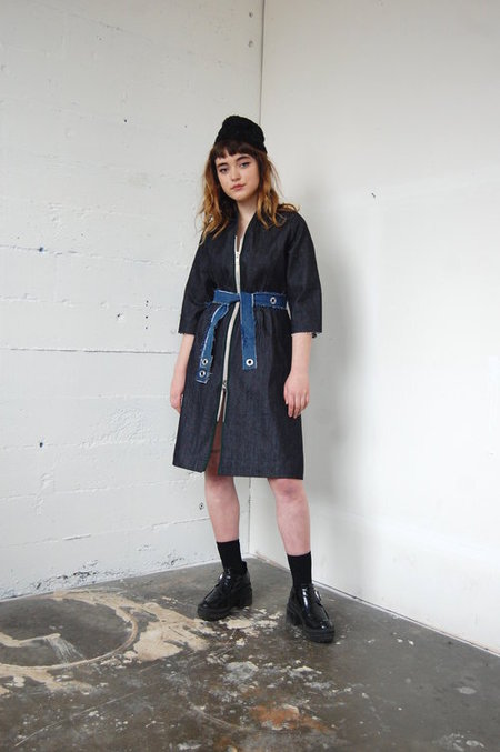 Alexa Stark Denim Dress no.2 - Blue