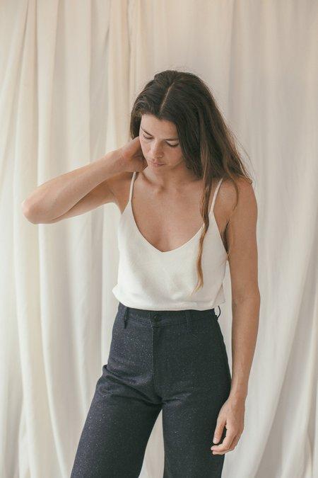 Ozma Silk Noil Camisole - Natural