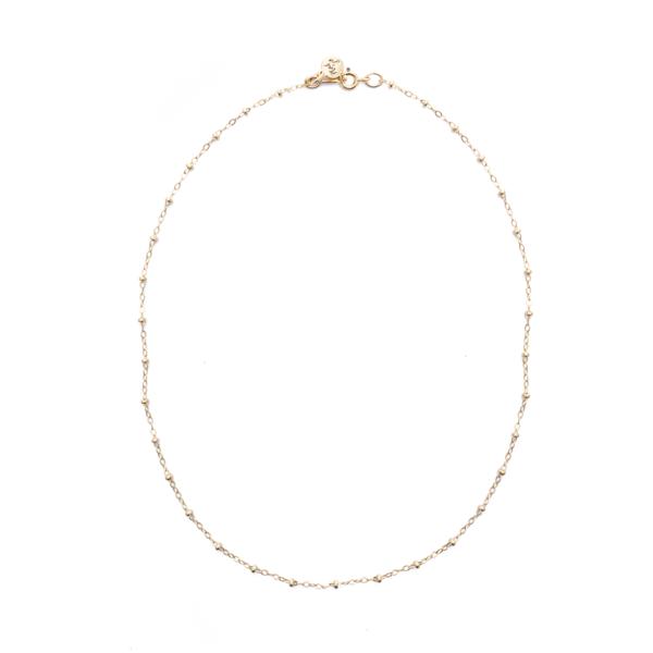 Mod + Jo Dot Dot Shorty Necklace - Gold Filled