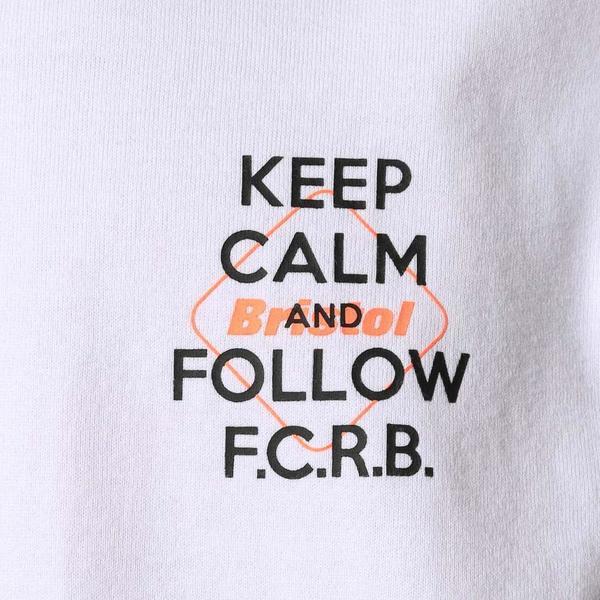 F.C. Real Bristol Big Logo Supporter Tee - white