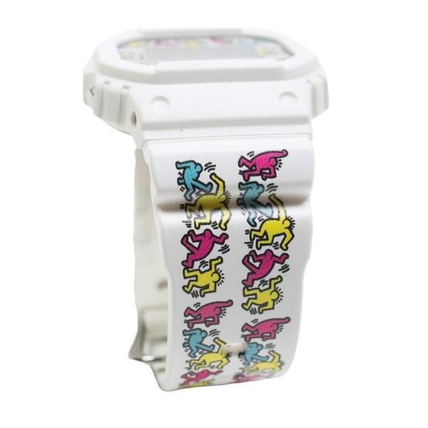 G-Shock x Keith Haring DW-5600 Watch - White