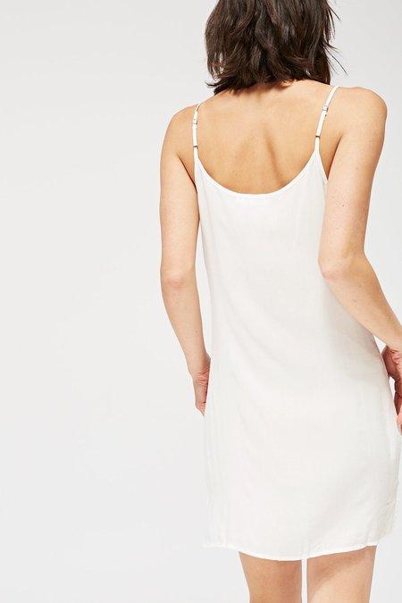 Lacausa V-Neck Slip - White