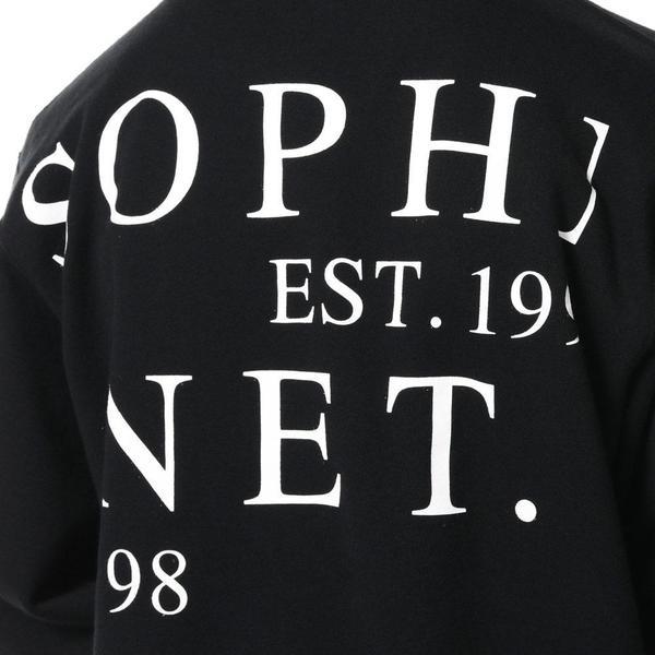 SOPHNET. Pocket Crew Neck Sweat - black
