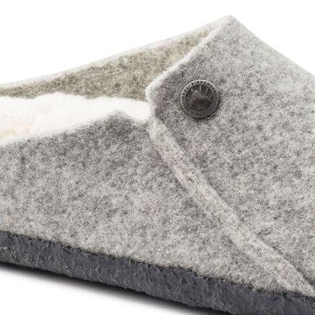 Birkenstock Zermatt Rivet Wool Felt - Light Grey