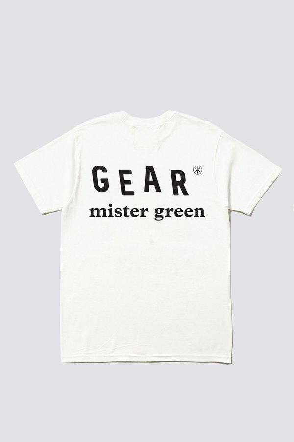 Mister Green Master of Stoned Tee -  White