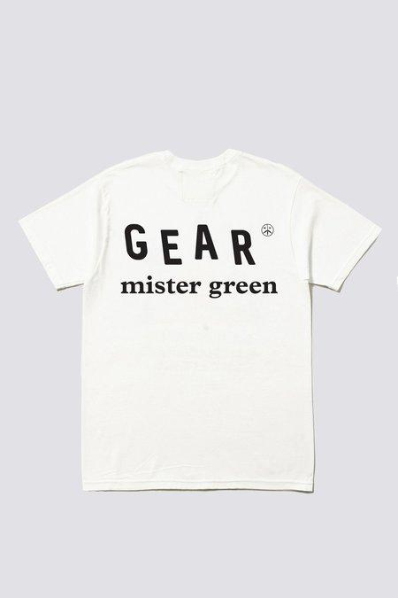 Mister Green Master of Stoned Tee -  White